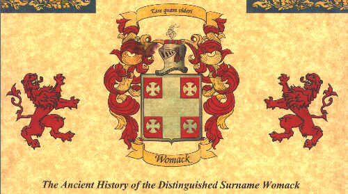 Womack Coat Of Arms
